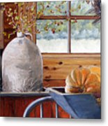 Kitchen Scene Metal Print
