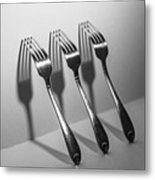 Kitchen Shadows Metal Print