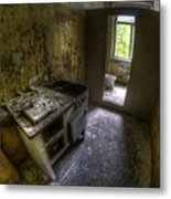 Kitchen With A Loo Metal Print