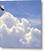 Kite In The Clouds Obx Buxton North Carolina Metal Print