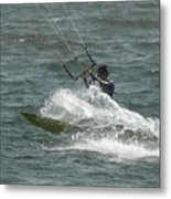 Kite Surfing 21 Metal Print