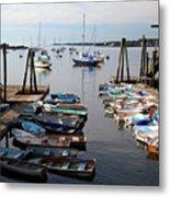 Kittery Point Fishing Boats Metal Print