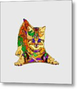 Kitty Love. Pet Series Metal Print