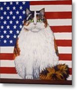 Kitty Ross Metal Print by Linda Mears
