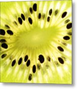 Kiwi Fruit Metal Print