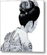 Kiyo Metal Print by Lorraine Foster