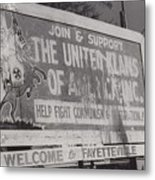 Kkk- 1975 Metal Print by Signs Of The Times Collection