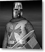 Knight Templar Metal Print