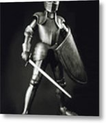 Knight Metal Print by Tony Cordoza