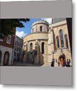 Knights Templar Church- London Metal Print