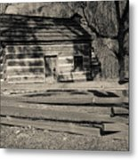 Knob Creek Cabin Metal Print