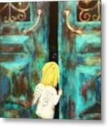 Knocking On Heaven's Door Metal Print
