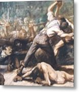 Knockout Metal Print by Pg Reproductions