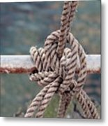 Knot Of My Warf Metal Print by Stephen Mitchell