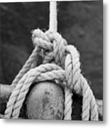 Knot On My Warf Iv Metal Print by Stephen Mitchell