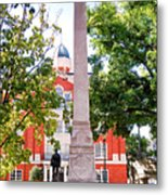 Knoxville Old Courthouse Grounds Metal Print