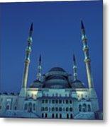 Kocatepe Cami Mosque In Ankara, Turkey Metal Print