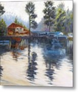 Kodaikanal Lake Metal Print