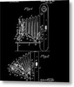 Kodak Folding Camera 1922 Metal Print