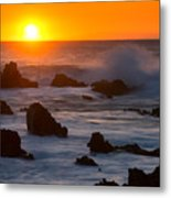Kohala Sunset Metal Print