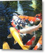 Koi Fish 2 Metal Print