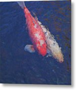 Koi Fish Partners Metal Print