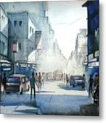 Kolkata City Metal Print