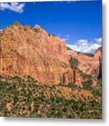 Kolob Canyon Vista Metal Print