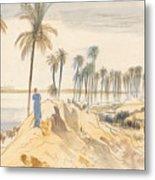 Kom El Amhr, 1 Pm, 4 January 1867 Metal Print