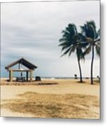 Kona Beach Metal Print