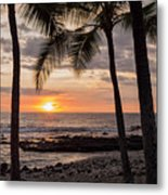 Kona Sunset Metal Print by Brian Harig