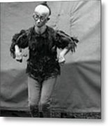 Koo Koo The Bird Girl Front Metal Print
