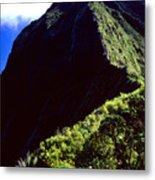 Koolau Summit Trail Ridge Metal Print