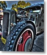 Koolsville Rat Rod. Metal Print by Ian  Ramsay