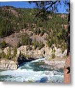 Kootenai Falls, Montana Metal Print