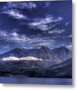 Kootenai Lake Bc Version 2 Metal Print