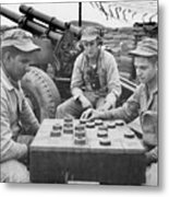 Korean War (1950-1953) Metal Print