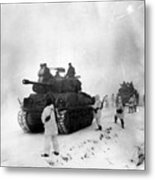 Korean War: Allied Forces Metal Print
