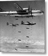 Korean War: B-29 Bombers Metal Print
