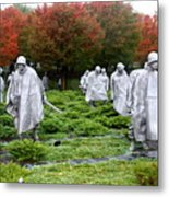 Korean War Memorial  Metal Print