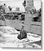 Korean War: Navy Mailbag Metal Print