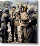 Korean War: Prisoners Metal Print
