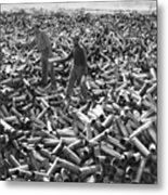 Korean War: Shell Casings Metal Print