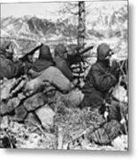 Korean War: Soldiers Metal Print