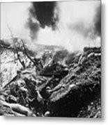 Korean War: Trenches, 1952 Metal Print