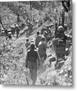 Korean War: Triangle Hill Metal Print