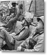 Korean War: U.n. Troops Metal Print