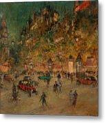 Korovin, Konstantin 1861-1939 Les Grands Boulevards, Paris Metal Print