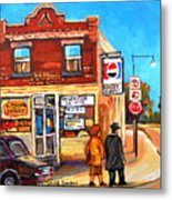 Kosher Bakery On Hutchison Metal Print