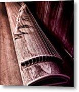 Koto - Japanese Harp Metal Print